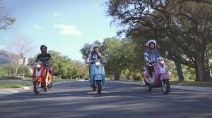 license to drive a scooter college