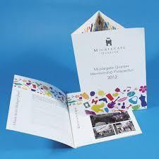 Folded Leaflets Wimbledon Business Studio
