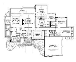 house plans with no formal dining room lovely a perfect one story house plan huge master