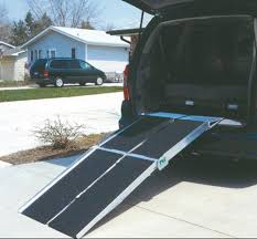 image of portable ramps for wheelchairs