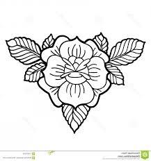 Vignette Design Graphic Floral Vignette Graphic Floral Vignette Isolated
