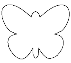 Butterfly Cutouts Template Butterfly Cutout Template Under Fontanacountryinn Com