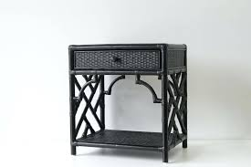 rattan bedside tables bedside table naturally cane and wicker furniture amusing pottery barn classic tables round