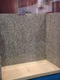 granite shower wall panels stone shower