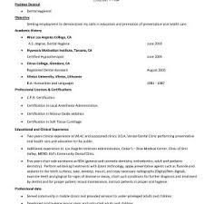 Dental Assistant Resume Examples Best Of Unique Dental Hygiene ...