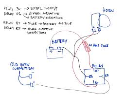 wiring diagrams air horn relays best car diagram throughout for back to post wiring diagram for air horn relay