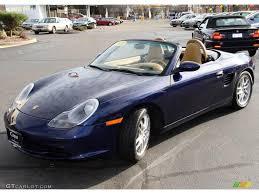 2003 Lapis Blue Metallic Porsche Boxster #22870936 | GTCarLot.com ...