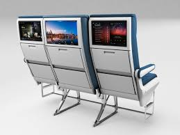 caption caption the aviation design company s newest concept moves middle seats back and down giving passengers an extra 3 inches of width compared to