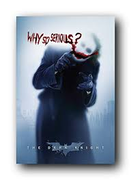 amazon batman the dark knight joker heath ledger why so serious wall poster rolled 24 x 36 joker poster posters prints