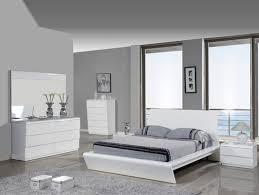 White modern platform bed Fabric Platform Mig Furniture Modern Platform Bed Wlnelly White