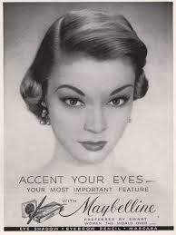 maybelline ad circa 1951 photo maybelline