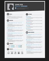 Cover Letter And Resume Template For A Graphic Designer Design