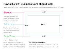 Adobe Illustrator Business Card Template With Bleed Fulled Postcard