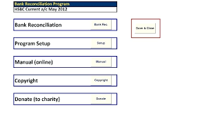 Bank Reconciliation Template Excel Bank Reconciliation Template Free Download Literals