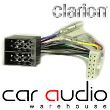 clarion 12 pin iso head unit replacement car stereo wiring harness car stereo wiring harness image is loading clarion 12 pin iso head unit replacement car