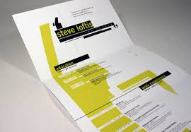 Stunning How To Fold A Resume Gallery - Simple resume Office .