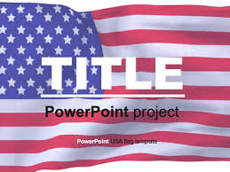 america ppt template american flag powerpoint template