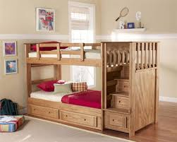 Bunk bed with stairs and storage drawer plans by tdallen47