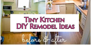 small kitchen diy ideas before after remodel pictures of tiny
