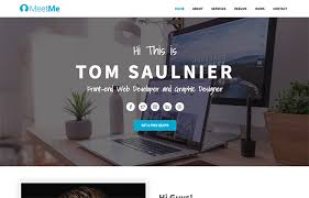 resume web templates 120 best free and premium bootstrap website templates of 2019