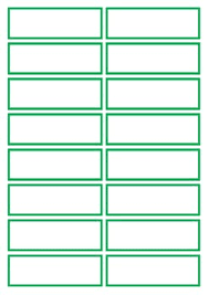 Basic Green Flashcard Template By Wonkey Pot Studio | Tpt