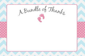 Free Printable Thank You Cards Baby Download Them Or Print