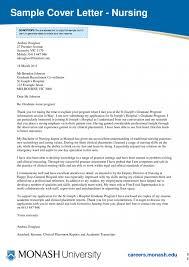 Cover Letter Nursing Letters New Graduate Nurse Samples Guamreview