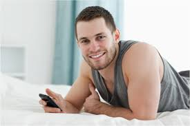 Texting single gay men