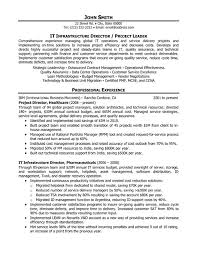 Pmp Sample Resume