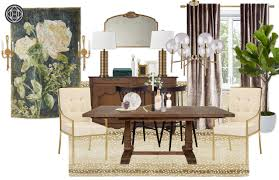 Design Your Own Dining Room Furniture Eclectic Glam Dining Room Design By Havenly Interior