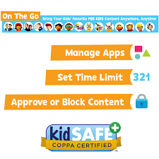 pbs kids 7 hd educational playtime kid safe tablet with android 6 0 pbskd12 walmart