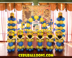 Minion Party Minions Despicable Me Cebu Balloons And Party Supplies