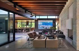 Interior Design Littleton Co Modern Hillside Home In Colorado Offers Impressive
