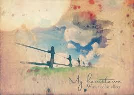 Biến hình ảnh thành tranh màu nước cực ấn tượng