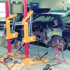 at executive auto body we do state of the art frame unibody repairs we feature three diffe pulling systems we use buske collision floor posts with