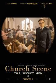 Kingsman: The Secret Service\u0027 church scene infographic : movies