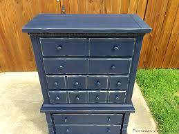 Navy Blue Dresser Bedroom Furniture Navy Blue Distressed Furniture Luxhotelsinfo