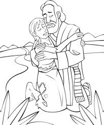 Preschool Coloring Pages The Prodigal Son