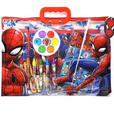 Related:batman coloring book spiderman coloring book 2002 spiderman coloring book vintage. Licensed Spiderman Coloring Set Tote Walmart Com Walmart Com