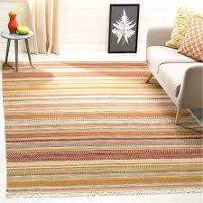 kilim area rug striped hand woven wool brown beige area rug kilim area rugs kilim area rug
