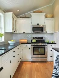Fine White Kitchen Cabinets With Black Countertops Countertop And B Intended Beautiful Ideas
