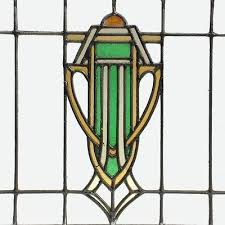 deco stained glass antique art window 2 of 5 lamp patterns
