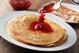 Znalezione obrazy dla zapytania omelette with jam