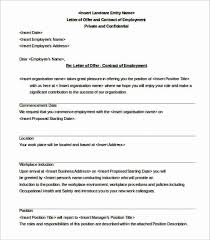 28 New Pictures Of Job Offer Letter Of Intent Resume Format