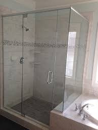 shower enclosures with bench. Fine Shower Frameless Corner Shower Door Inside Enclosures With Bench H