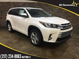 New 2018 Toyota Highlander Limited Bench Seat 4D Sport Utility in ...