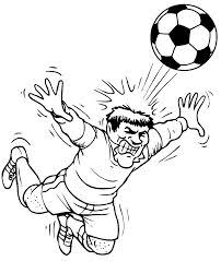 Small Picture soccer coloring pages to print