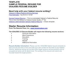 Resume Astounding Usajobs Builder Cool Military Officer Sample On