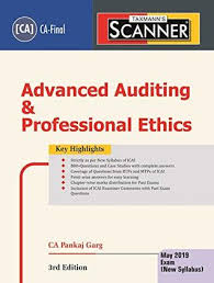 Pankaj Garg Audit Charts Nov 2018 Scanner Advanced Auditing Professional Ethics Ca Final