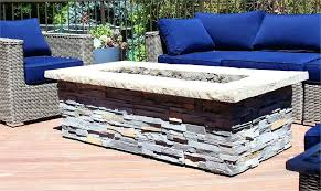 rectangular gas fire pit x rectangle custom stone fire pit rectangular gas fire pit